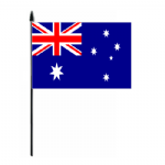 Australia Country Hand Flag - Medium.
